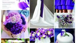 Inspiration Board #01 - Purple Wedding