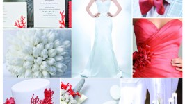 Inspiration Board #03 – Coral Red Wedding