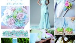 Inspiration Board #04 - Sky Blue Wedding