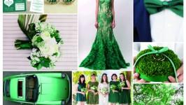 Inspiration Board #05 - Emerald Green Wedding