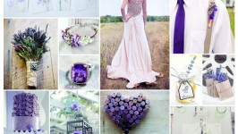 Inspiration Board #06 - Lavender Wedding