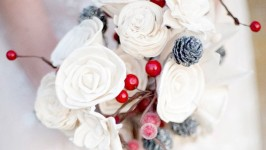 Christmas Wedding Bouquet - Il Bouquet Natalizio