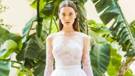 Christos Costarellos Bridal Collection Fall 2015