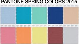 Colori Pantone Spring 2015