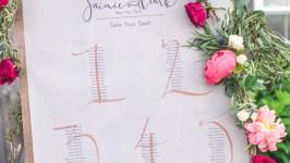Cos'è il tableau mariage e come crearne uno in maniera originale