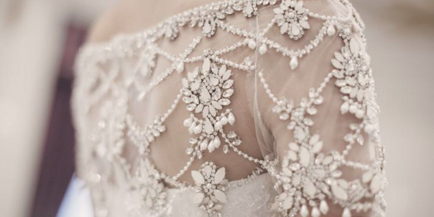 Abiti da sposa Marchesa Spring 2016, romanticismo e eleganza