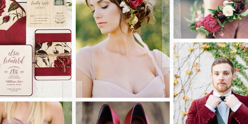 PANTONE Color Report Fall 2015: Tante idee per il matrimonio