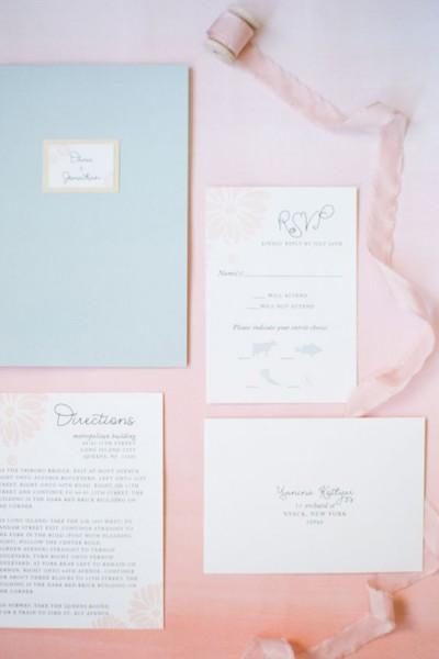 Partecipazioni Matrimonio Azzurro Polvere : Colori matrimonio rose quartz e serenity