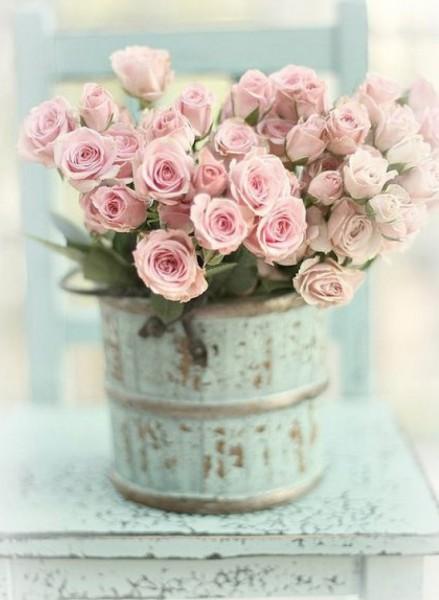 Risultati immagini per fiori in shabby stile