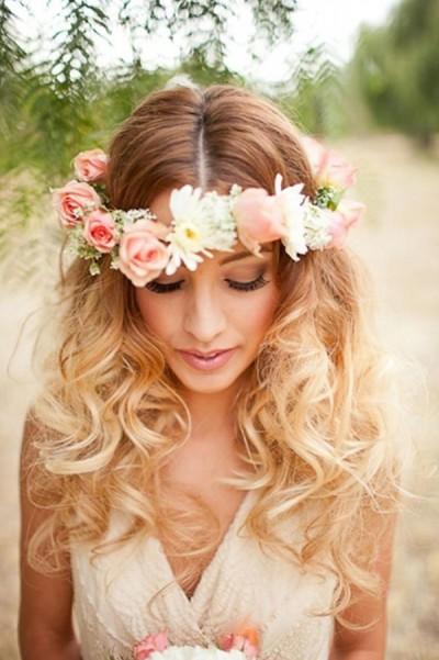 Coroncine di fiori sposa  consigli per scegliere questo accessorio 46589a72aa33