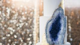 Geode Cake per il tuo matrimonio, una nuova bellissima tendenza