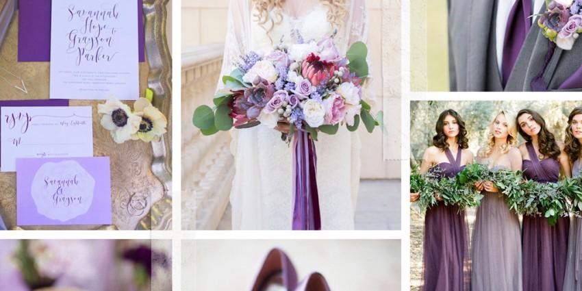 Matrimonio colore Ultra Violet PANTONE 18-3838