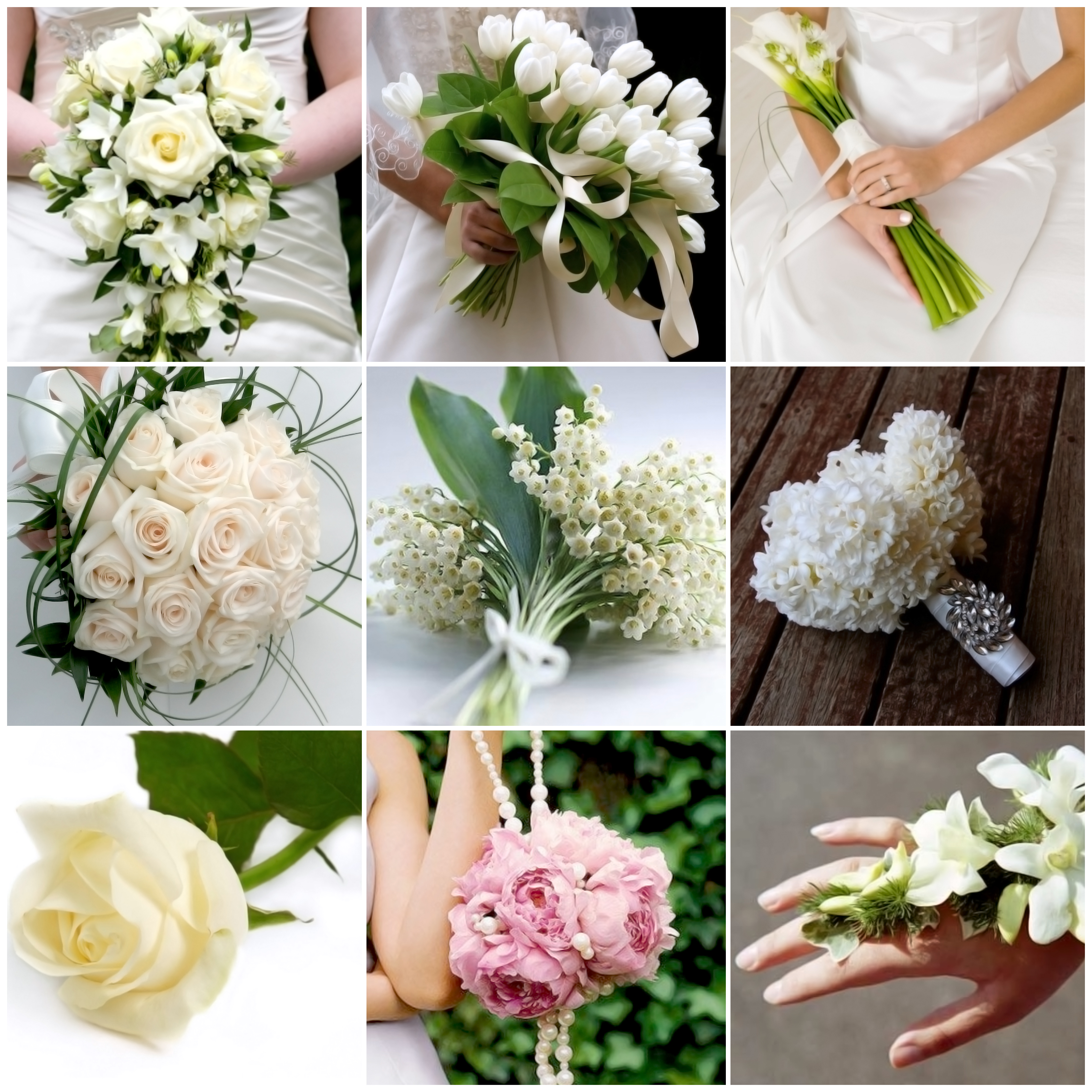 Bouquet A Goccia Sposa.A Ciascuna Il Proprio Bouquet