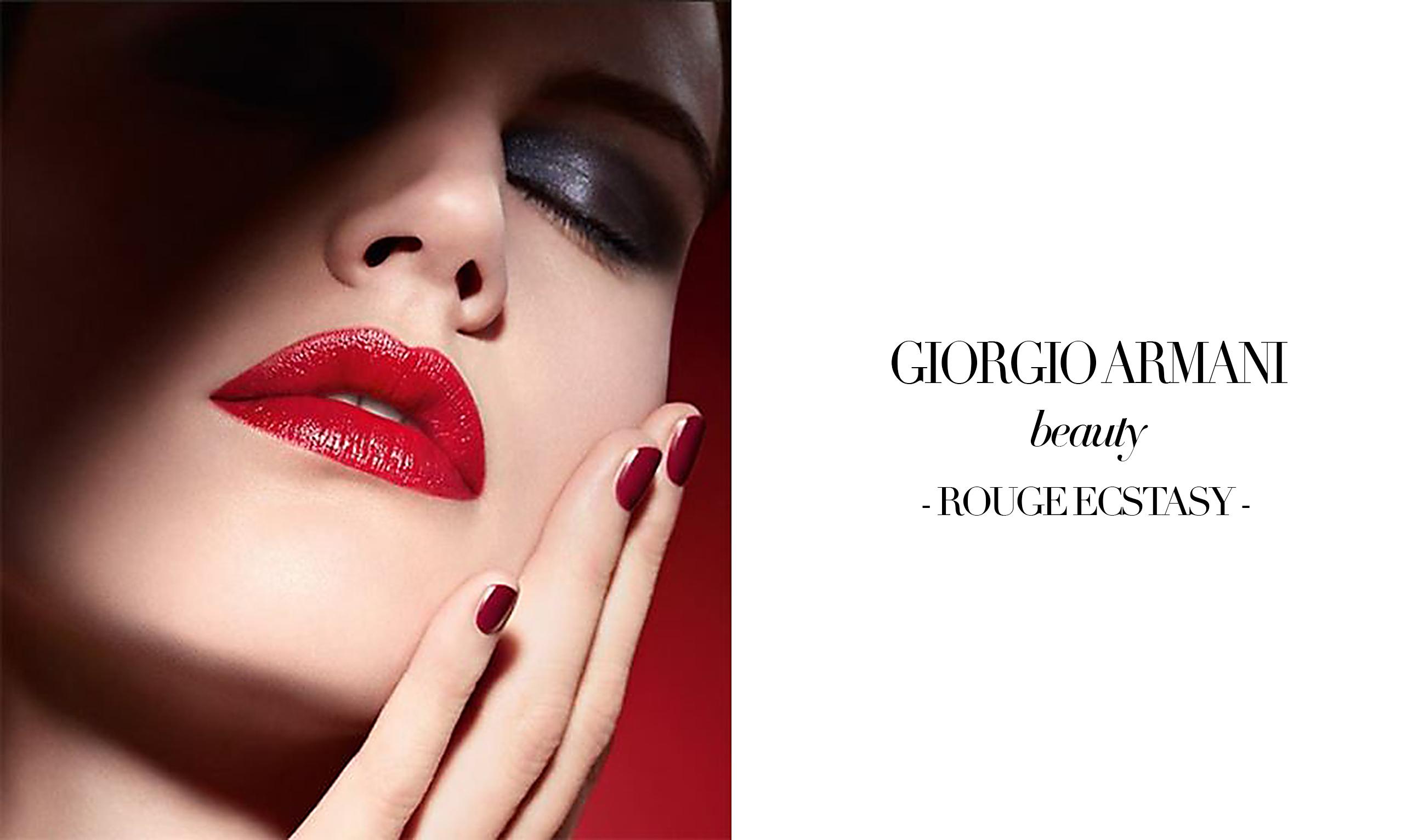 Giorgio Armani Beauty Rouge Ecstasy