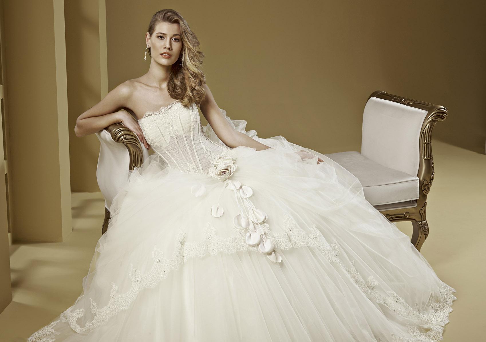 a75eeba986b0 Romance Bridal Collection 2015 - Nicole Fashion Group