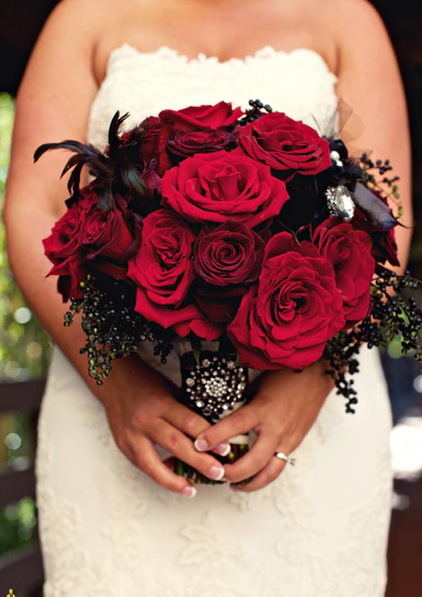 halloween wedding bouquet. Black Bedroom Furniture Sets. Home Design Ideas