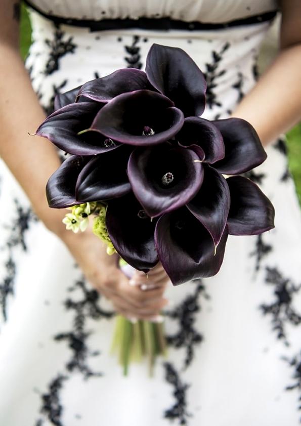 Bouquet Sposa Nero.Bouquet Sposa Nero