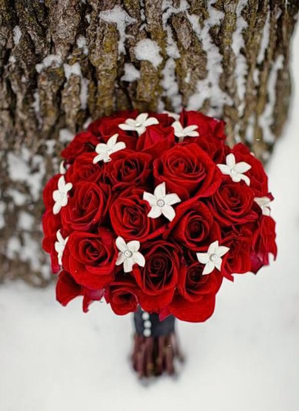 Bouquet Natalizio Matrimonio : Christmas wedding bouquet il bouquet natalizio