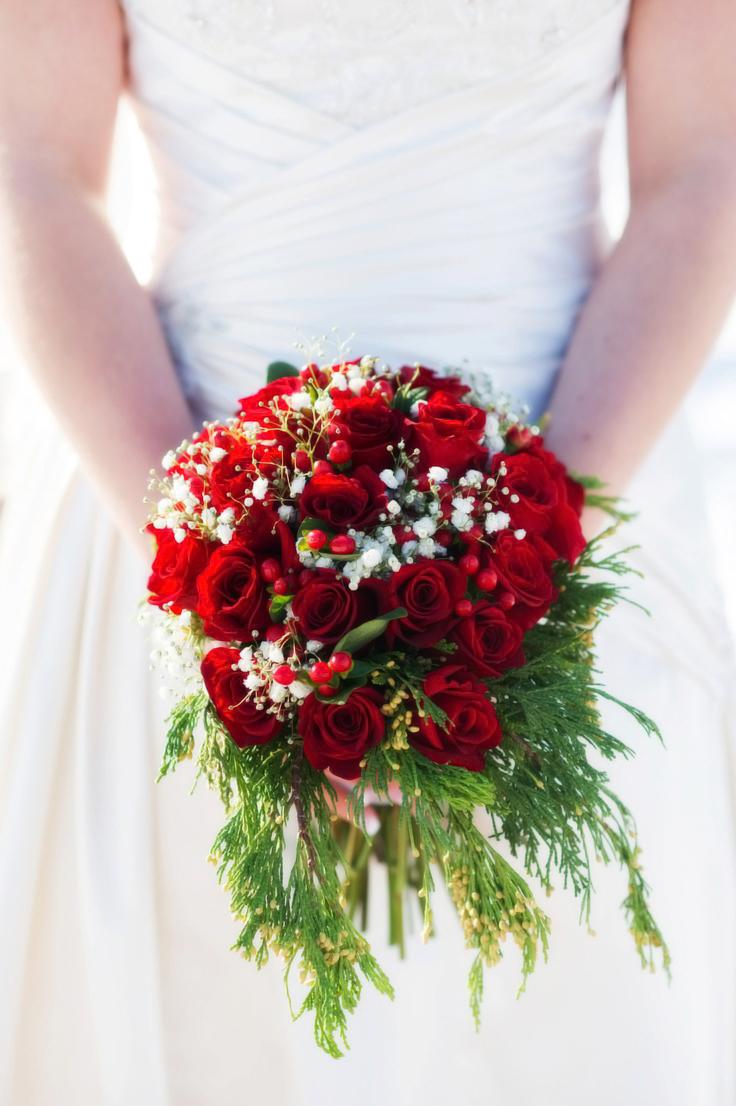 Bouquet Sposa Natale.Christmas Wedding Bouquet Il Bouquet Natalizio