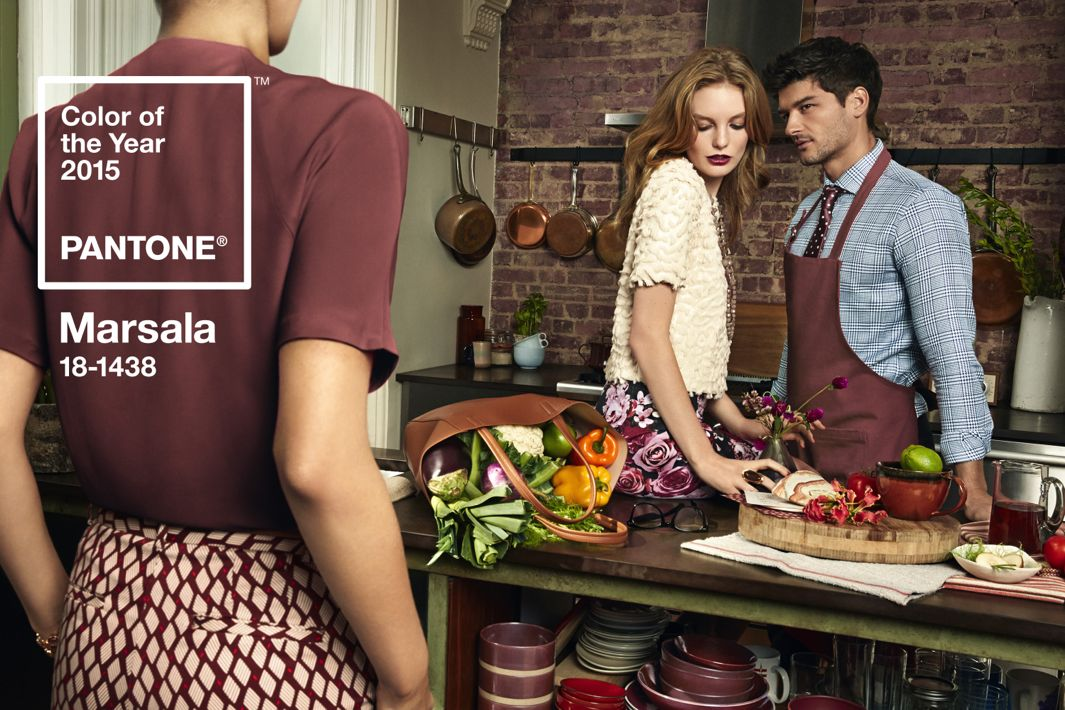Marsala 18-1238 Pantone Color of the Year 2015