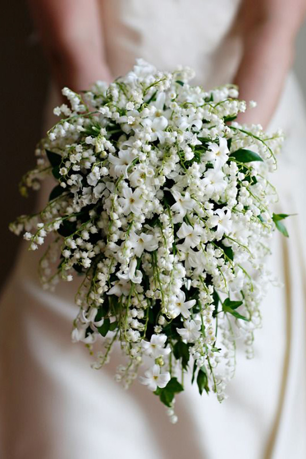 Bouquet Da Sposa Con Mughetti.Il Mughetto Lily Of The Valley