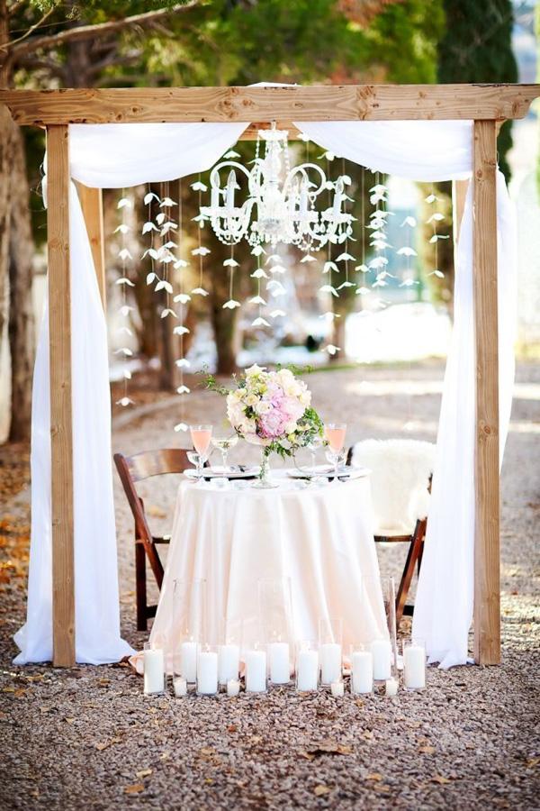 Connu Come decorare il tavolo degli sposi ML46