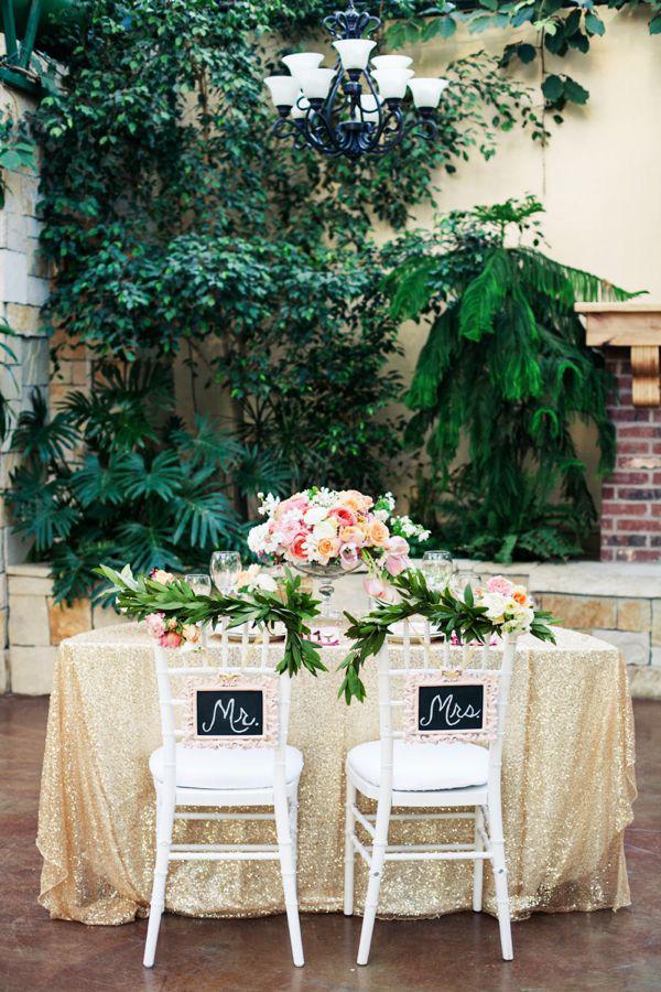 Il tavolo degli sposi - Sweetheart Table