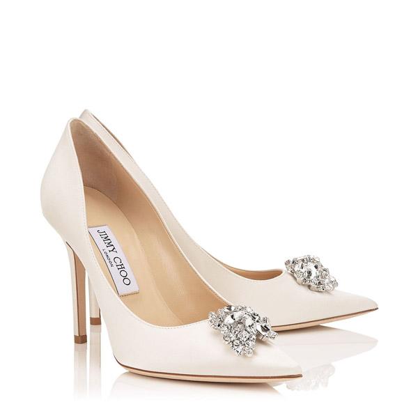 Scarpe Da Sposa Basse 2016.Quali Sono Le Scarpe Da Sposa Piu Belle Jimmy Choo Shoes