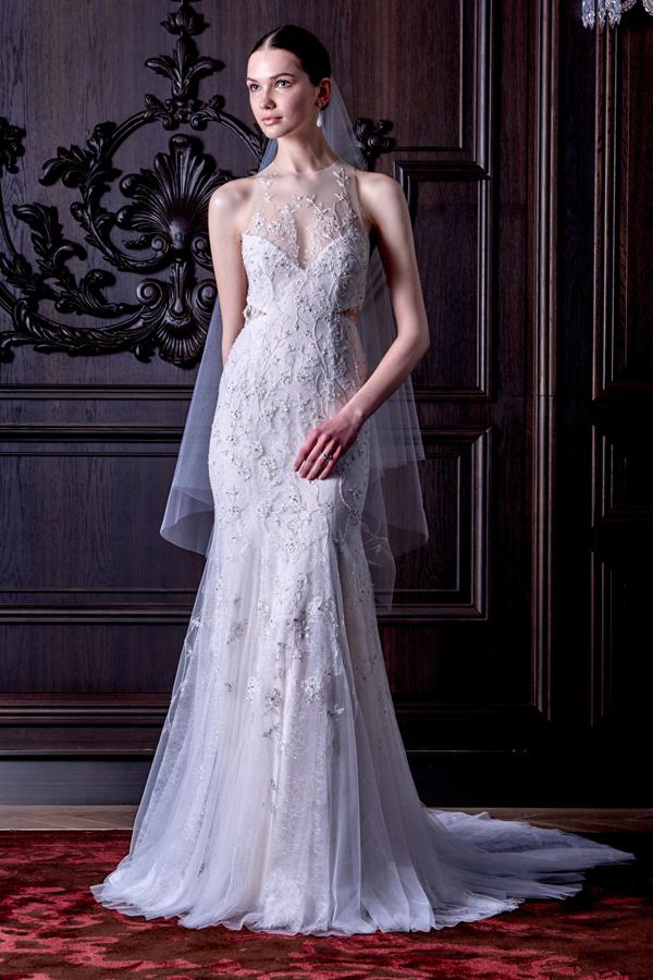 Abiti da sposa Monique Lhuillier Bridal Collection Spring 2016