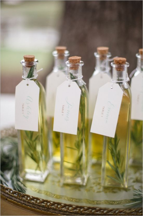 bomboniera matrimonio olio aromatizzato