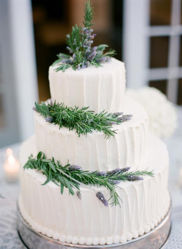 torta elegante erbe aromatiche