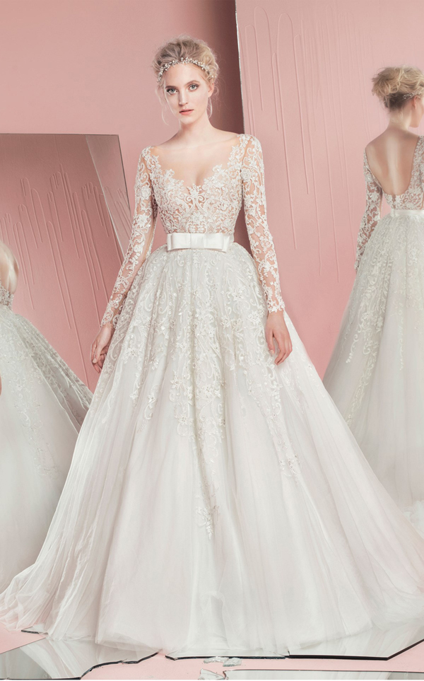 99b877ff70 Zuhair Murad sposa: Bridal Collection Spring 2016