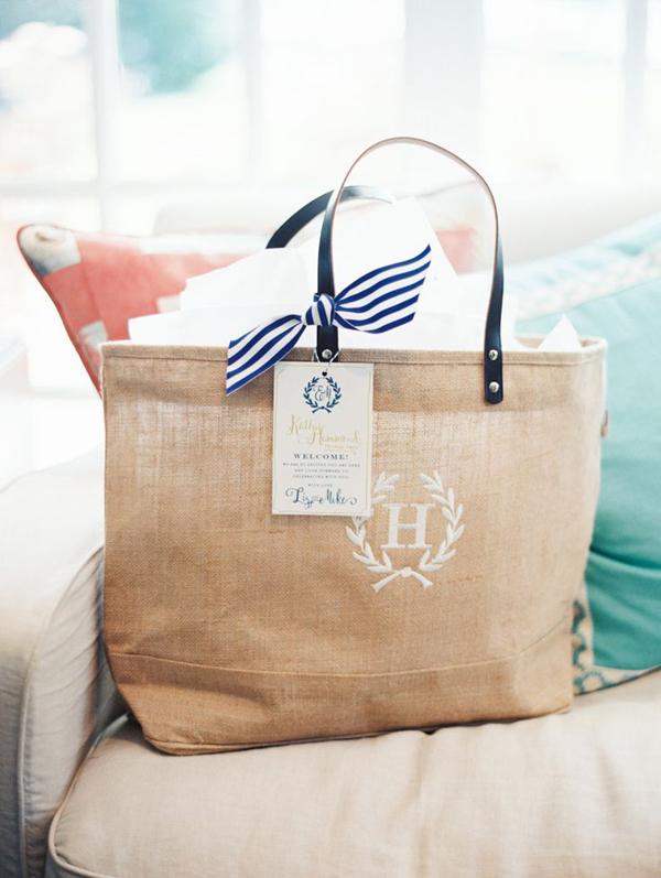 borsa regalo stile nautico