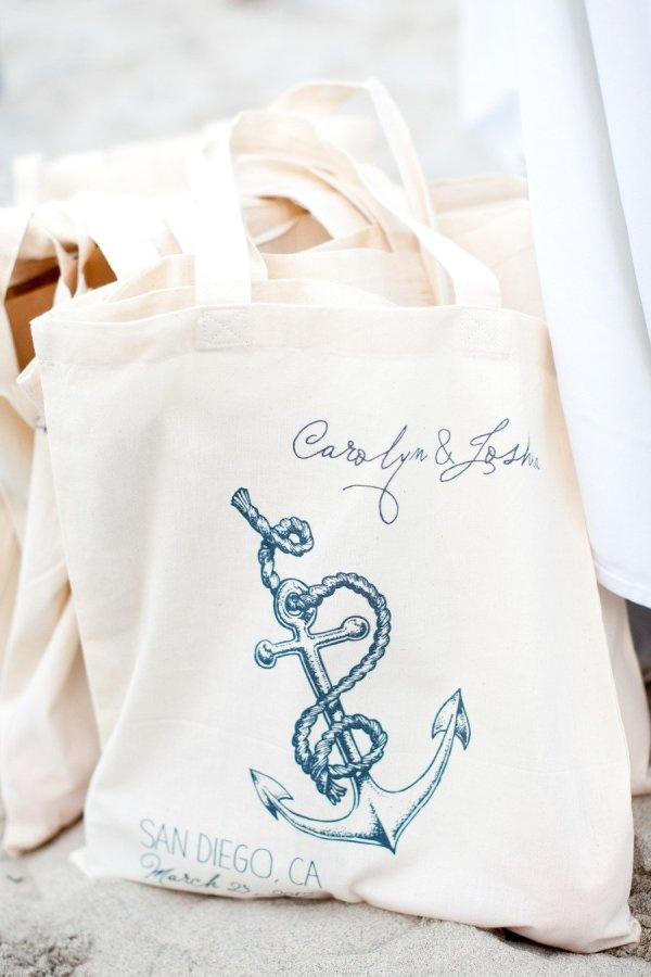 borse di tela personalizzate matrimonio