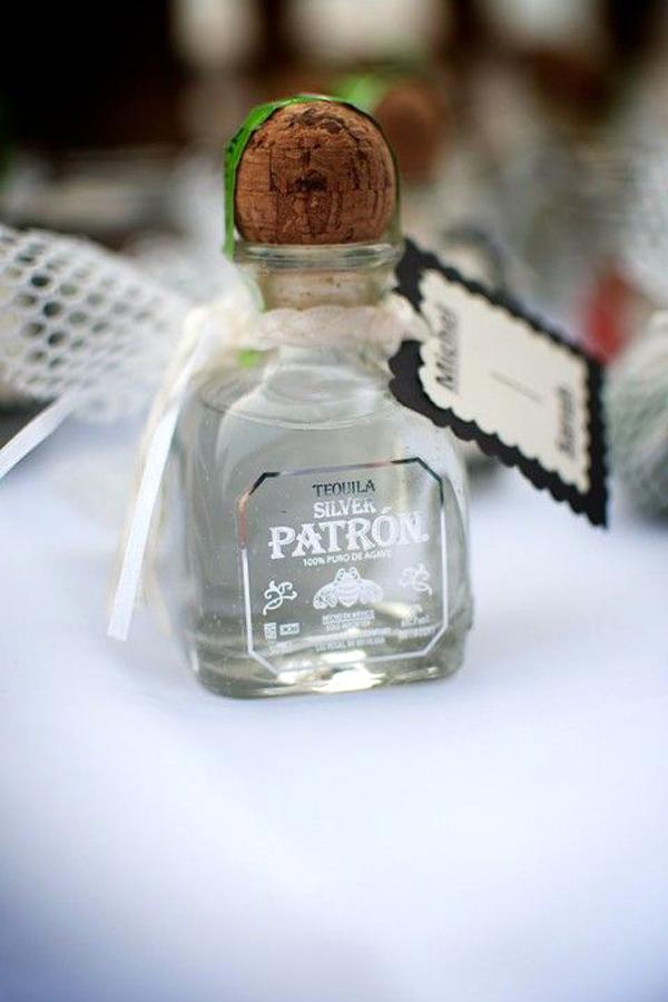 bottiglie piccole tequila personalizzata