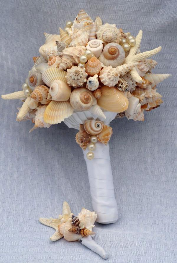bouquet conchiglie naturali