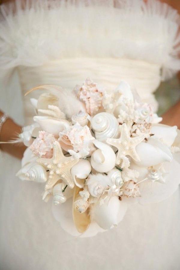 bouquet di conchiglie elegante