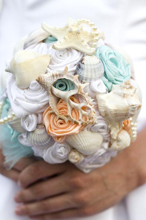 Matrimonio Tema Aqua : Composizioni con conchiglie ku regardsdefemmes