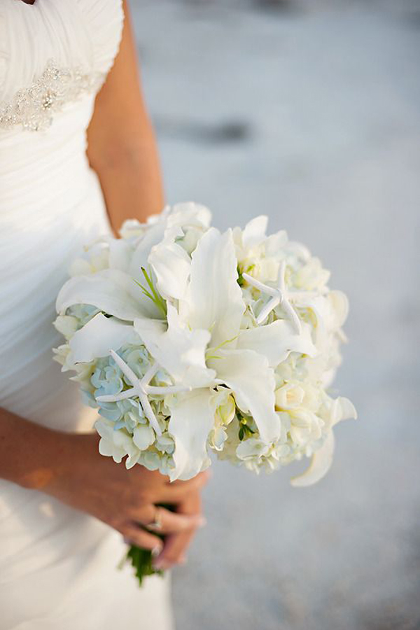 bouquet matrimonio sul mare