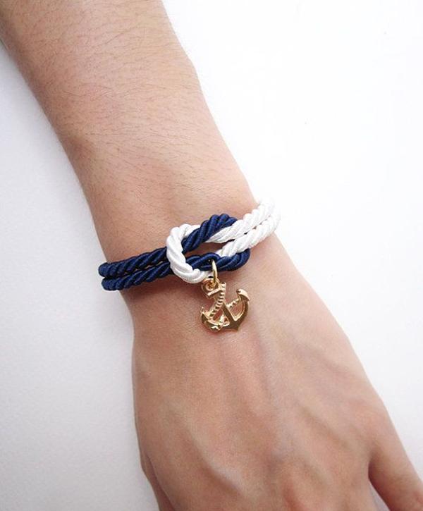 braccialetto nodo marinaro