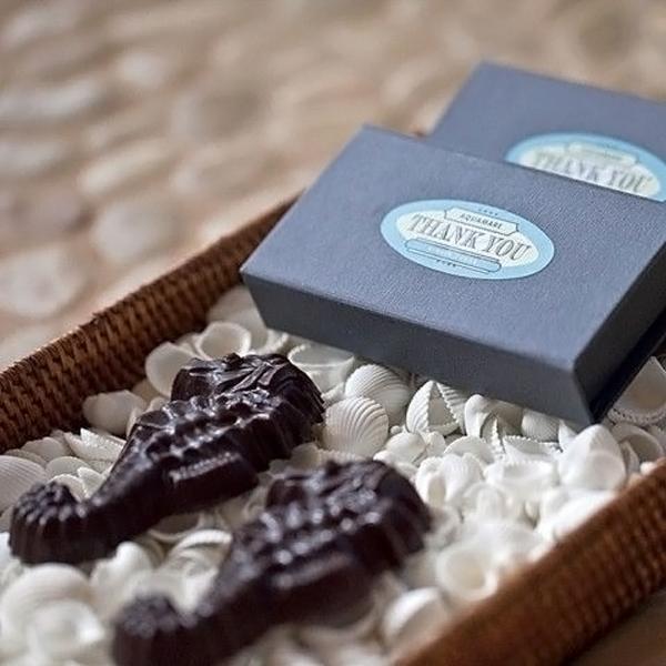 cioccolatini tema mare