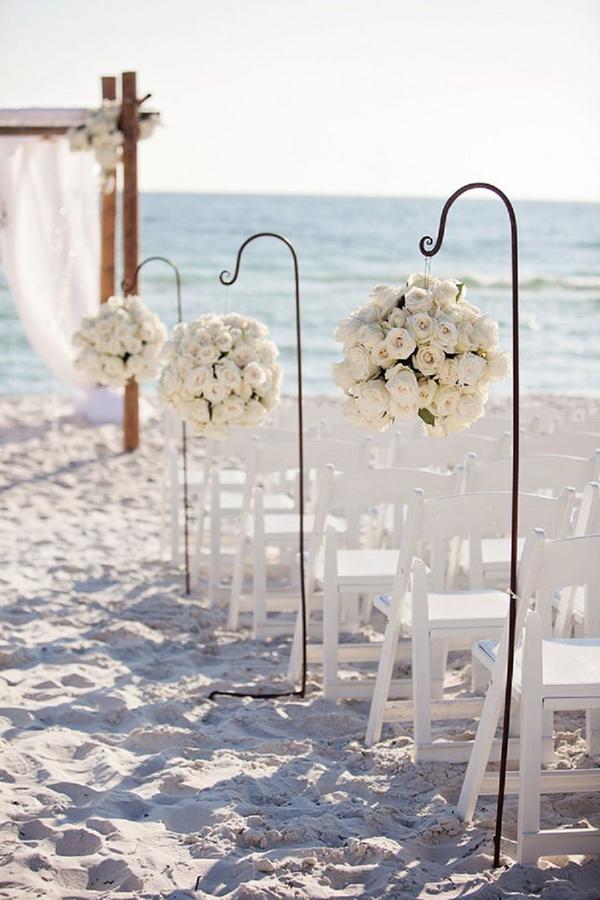 dettagli cerimonia sulla spiaggia