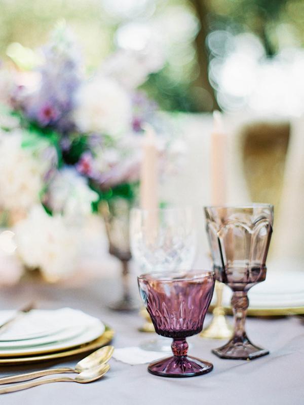 dettaglio tavola matrimonio