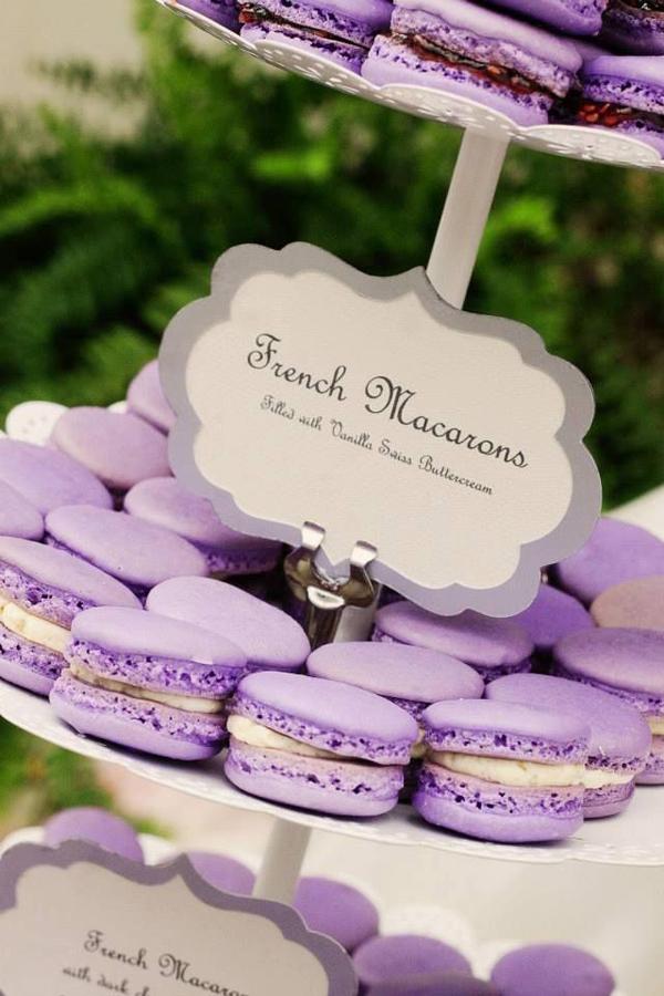 macarons lavanda