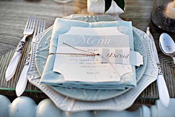 Segnaposto Matrimonio Azzurro : Matrimonio in spiaggia come organizzare un matrimonio tema mare
