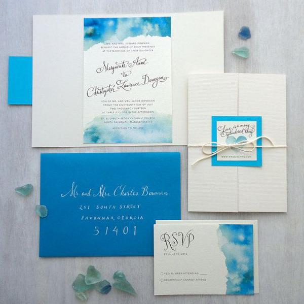 Partecipazioni Matrimonio Azzurro : Matrimonio in spiaggia come organizzare un matrimonio tema mare