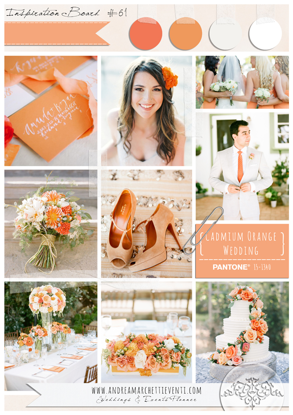 PANTONE Color Report Fall 2015 Cadmium Orange Wedding