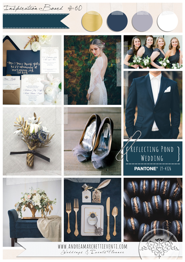 PANTONE Color Report Fall 2015 Reflecting Pond Wedding