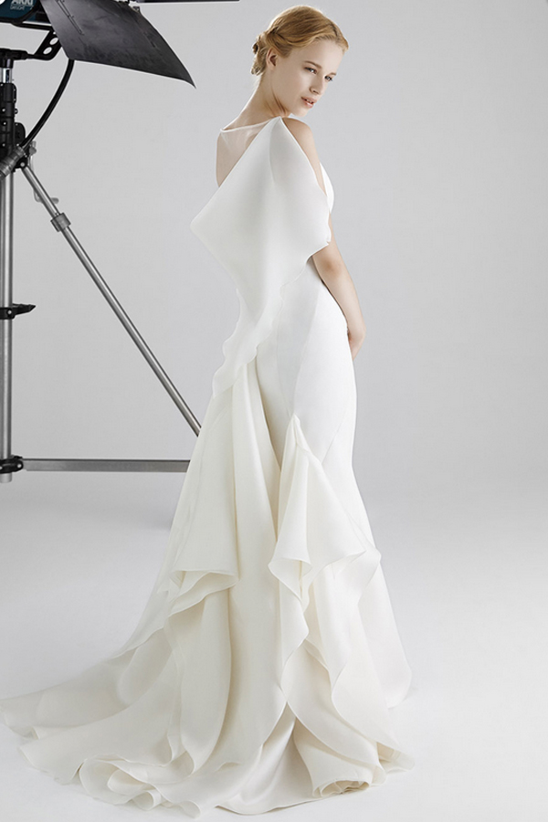 Peter Langner Bridal Collection Spring 2016 BIANCA DUE