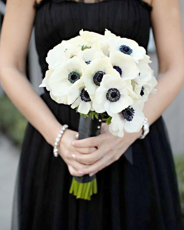 Bouquet Sposa Nero.Matrimonio Bianco E Nero Tutti I Nostri Consigli